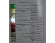 СНЯТЫ С ПР-ВА, Выкраска (на бумаге)Фольга метал.на плёнке в ассортименте ЕВ-05-Ф***