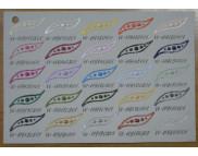 СНЯТЫ С ПР-ВА, Выкраска на картоне Paper-Pen для СКРАПБУКИНГА  25мл VV-119110201-VV-119200001