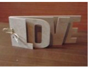 "Альбом д/скрапбукинга  ""Love"" (5страниц+кольца) 12х24см"