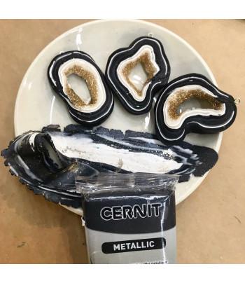 """Полимерный моделин """"CERNIT-METALLIC """" 56гр ГЕМАТИТ"""
