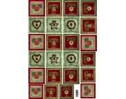 """16.5 Декупажная карта(лазерн.печать)29,5х42 НОВЫЙ ГОД """"Рождественские карточки"""""""