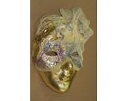 Рекламный плакат А-3 Венецианская маска Золочение Маска для декорирования M70823**Maimeri (Маймери) Италия MHB-8495-**Maranne Hobby (Марианн Хобби) Австрия