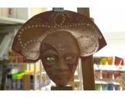 "Рекламный плакат А-3 Венецианская маска ""Лик в Короне"" Маска для декорирования M70823**Maimeri (Маймери) Италия MHB-8495-**Maranne Hobby (Марианн Хобби) Австрия"