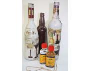 Рекламный плакат А-3 Бутылки Двухкомпонентный кракелюр Solo Goya KR-4101-50ML-4102-50ML Kreul:(Кройль) Германия