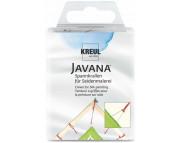 """Кнопки """"3 - зубец"""" для натяжки шёлка(острые,нерж.) Javana 1шт."""