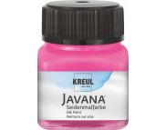 Краска по светл.тканям растекающаяся Javana (расфасована ЛХ) 30мл МАЛИНОВЫЙ