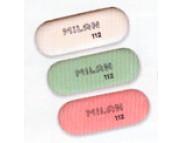 Ластик овальный (красный,зелёный,белый) 112 (каучук для В-8В) 73х28х9.5мм