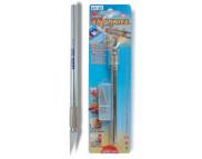 Нож трафаретный цанговый 8мм с алюминиевой ручкой+запасн.лезвия(3шт.)