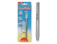 Нож с поворотным на 360*лезвием 11мм с алюминиевой ручкой+запасн.лезвия(2шт.)
