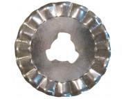 Набор круглых лезвий/ d20мм (2шт.) Зигзаг для MS-15001