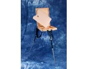 *Этюдник деревян.(520х400х85мм) с металл. ножками для нескользк. поверхн. ЕММ -102
