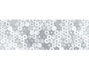 RR п Картон фольгированный 215г 20х30см одностор.тисненый СЕРЕБРО - БЛЕСТКИ