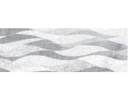 RR п Картон фольгированный 215г 20х30см одностор.тисненый СЕРЕБРО - ВОЛНЫ