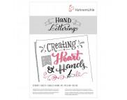 "*Альбом-склейка для литтеринга ""Hand Lettering""Hahnemuhle 170гр крупнн.зерно.25л А5"